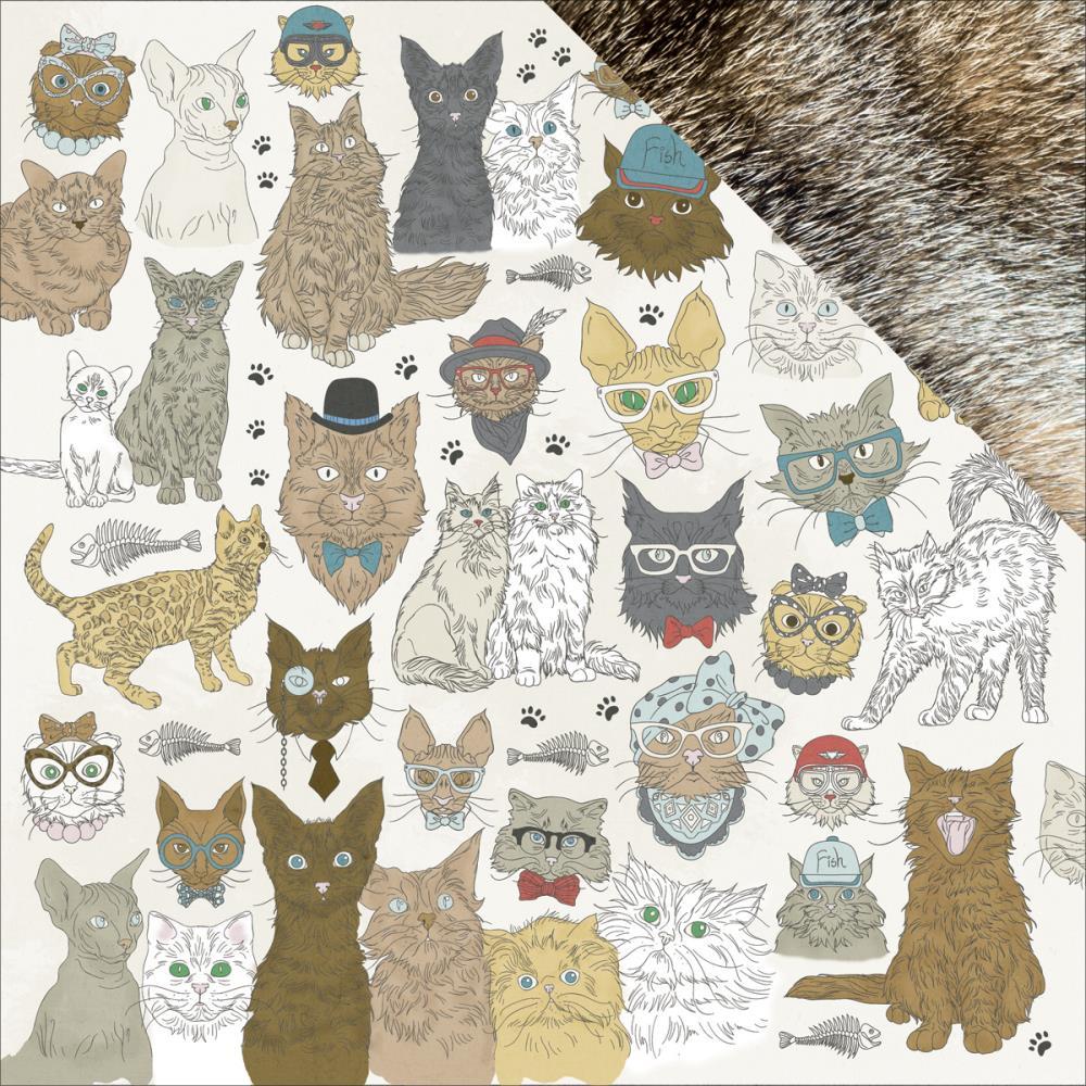 картинки кошек для скрапбукинга